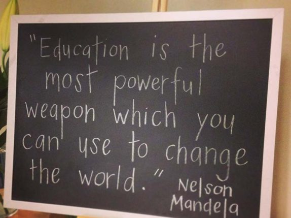 Preschool Education - Nelson Mandela Quote